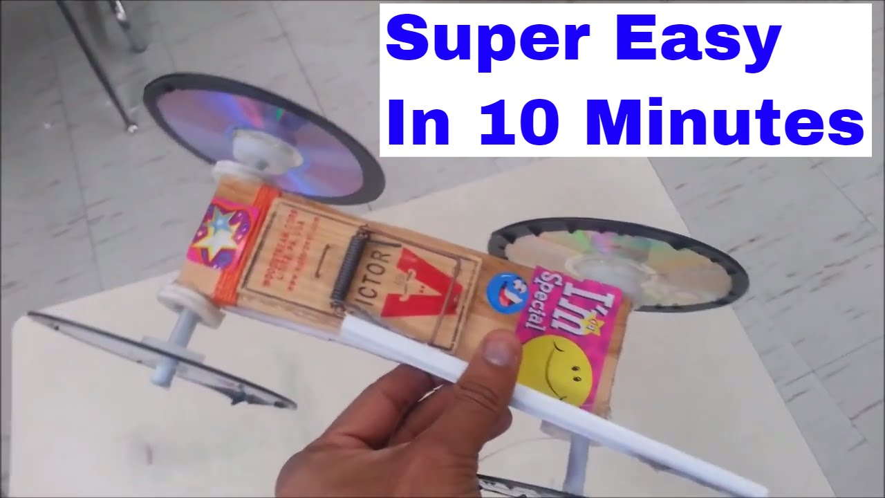 How to make Mouse Trap Car - DIY - YouTube
