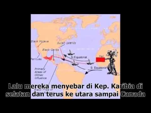 Penemuan Benua Amerika Oleh Umat Islam episode 1 العظماء المائة 9 مترجم إندونيسي