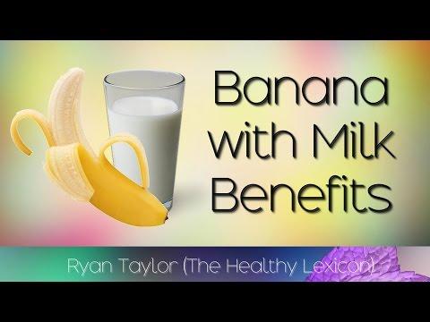 Banana and Milk: Health Benefits