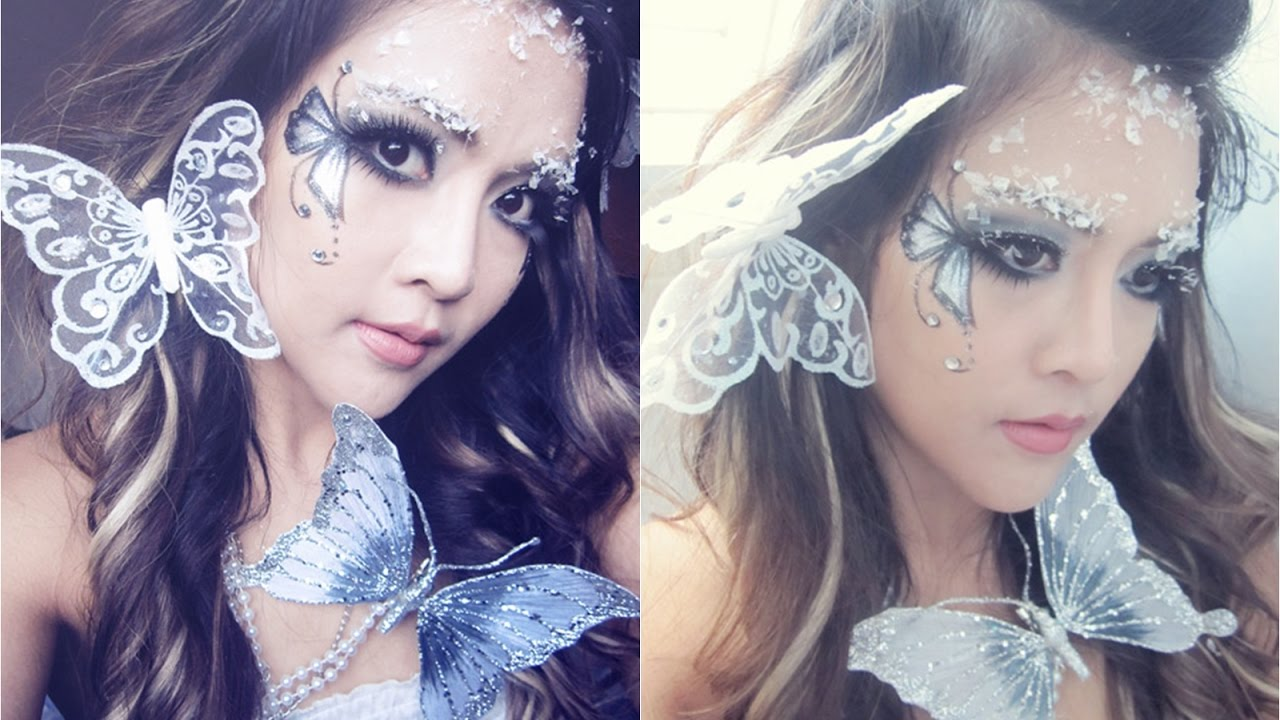 Festival make up tutorial: white fairy | festival makeup and.
