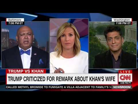Video: Wajahat Ali Debates Disparagement of Muslim Gold Star Family with Trump Supporter on CNN