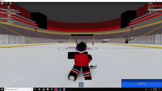 EASIEST WAY TO SCORE IN ROBLOX HOCKEY WORLD