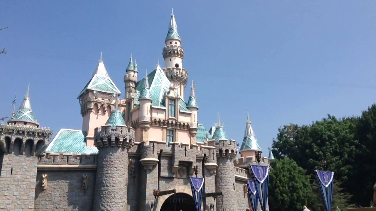 disneyland sleeping beauty castle september 7 2016 - Blue Castle 2016