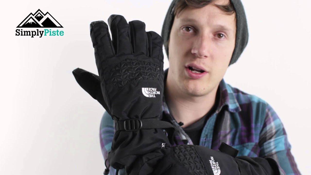 Mens etip gloves - The North Face Mens Etip Facet Glove Tnf Black Www Simplypiste Com Youtube