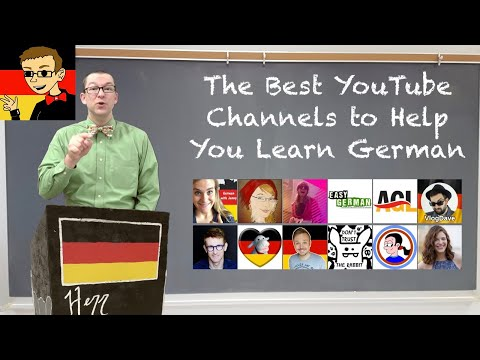 Best YouTube Channels for Learning German