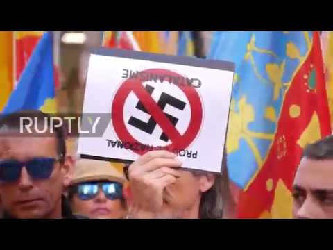 Spain: Thousands say NO to 'Catalan nationalism' in Valencia
