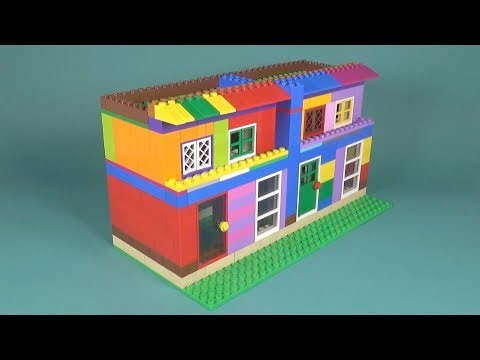 Lego Apartment (003) Building Instructions - LEGO Classic How To Build - DIY