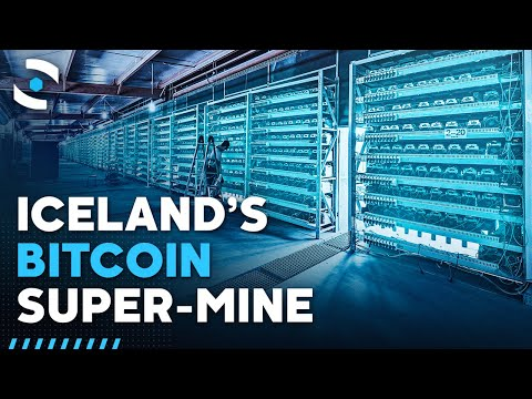 Inside Iceland's Massive Bitcoin Mine