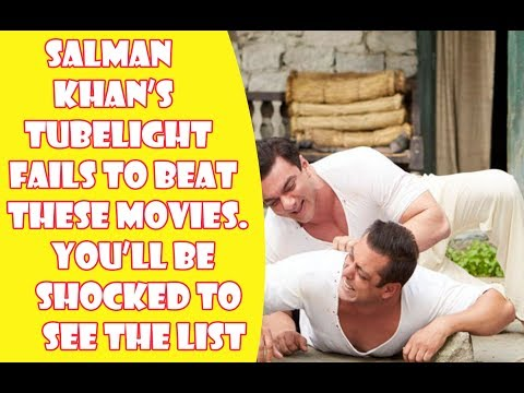Salman Khan's Tubelight Fails To Beat These Moves | Shocking