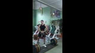 Становая тяга 250 кг (вес не взят)