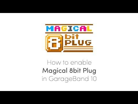HOW TO: Enable 'Magical 8bit Plug' in GarageBand 10 - YouTube