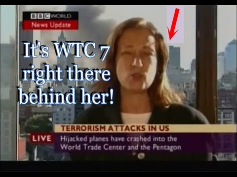 BBC reports WTC 7 collapsed...BEFORE it collapsed! NEW