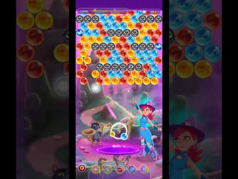 Bubble Witch 3 Saga Level 1324 Boosters