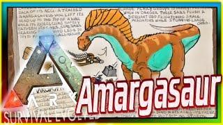Amargasaurus! (ARK: Survival Evolved Dossier/News) #56: Fan-made New Sauropod Update & Spotlight