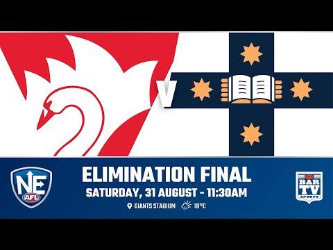 2019 NEAFL - Elimination Final - Sydney Swans  V Sydney University