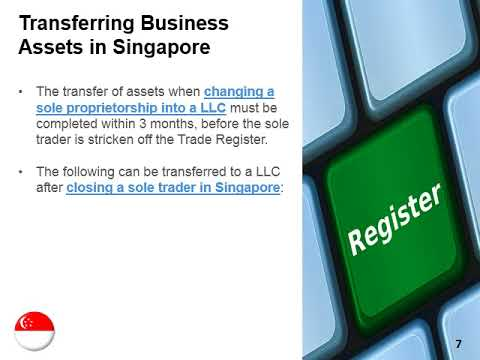Change a Sole Trader Into LLC in Singapore