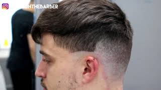 HAIRCUT TURORIAL CESAR CROP || KIERON THE BARBER
