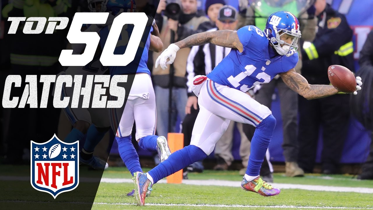 Top 50 Catches of the 2016 Season!  NFL Highlights