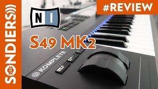 KOMPLETE KONTROL S49 MK2 - Clavier de contrôle MIDI Native Instruments