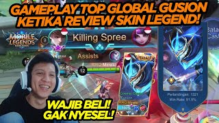 Download PERMAINAN RRQ XIN REVIEW SKIN LEGEND GUSION ! - SOLO RANK MEMBANTAI !!!