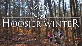 Hoosier National Forest in 4K | Winter Camping, Hiking, and Wilderness Travel