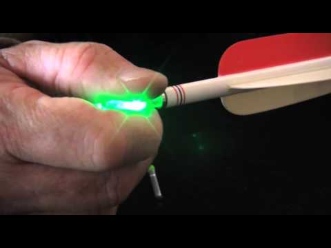 Ignitor Lighted Nocks How To Turn Them Off Youtube