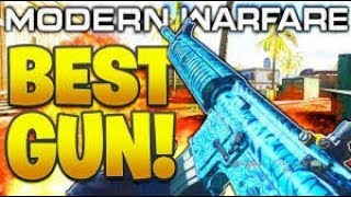 My Craziest COD Modern Warfare Game so far! - M4A1 Assault Rifle!!