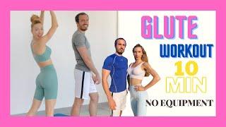 10 min Bubble Butt Workout | 10dk Yuvarlak Kalça Antrenmanı | FITINSANE |
