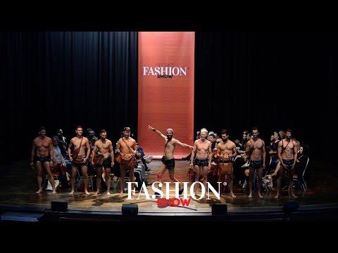 Gusti Leder auf der Secret Fashion Show, München, 7. Oktober 2016