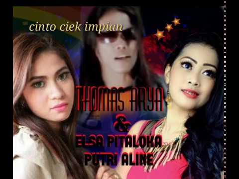 thomas arya feat putri aline dan elsa pitaloka ful (oficial)lagu minang....