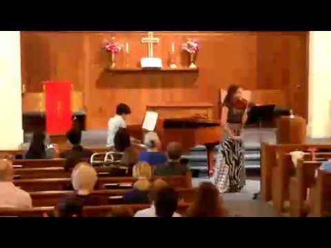 Rodrigo Garcia (piano) and Tania Hasse (violin) Duo Espiral Concert