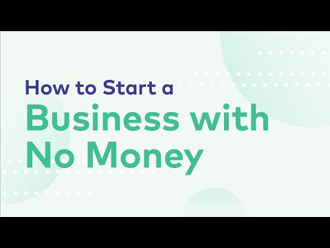 """""""How to Start a Business with No Money"""" by Incfile"""