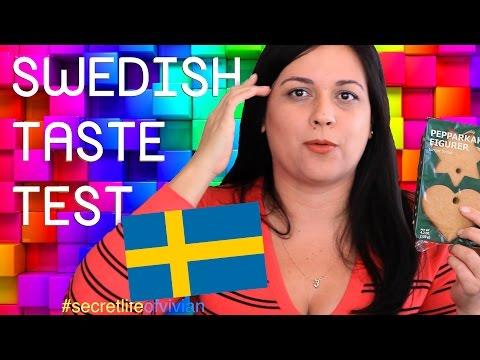 SWEDISH FOOD TASTE TEST #1 | SWEDEN / IKEA | VIVIAN REACTS