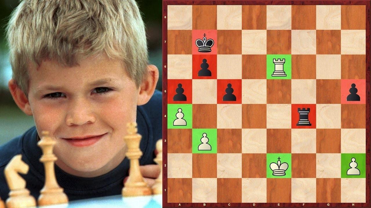 Шахматы. ПОУЧИТЕЛЬНАЯ ПАРТИЯ маленького Магнуса Карлсена!