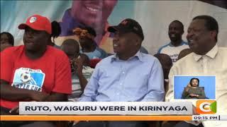 KANU, ANC, ODM leaders converge in Kakamega