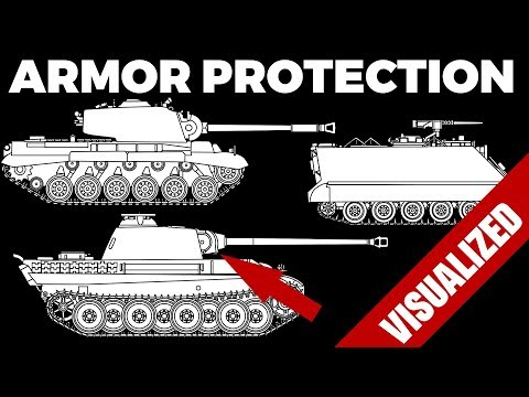 [Tanks 101] Armor Protection 1920-1980 - Features and Characteristics