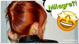 Óleo de coco para Pintar ou Descolorir o cabelo
