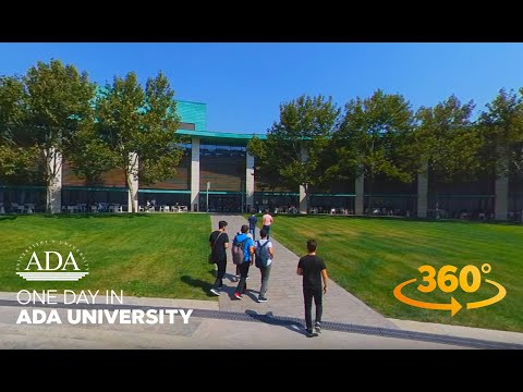 One day in ADA University – 360° Video Tour