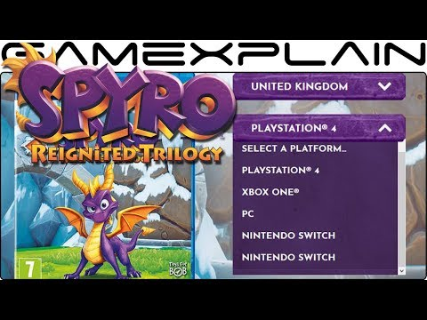 Official Spyro: Reignited Trilogy Website Leaks Nintendo Switch & PC Versions