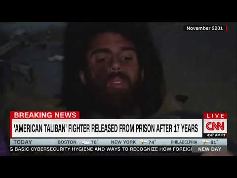 'American Taliban' fighter John Walker Lindh released from federal prison