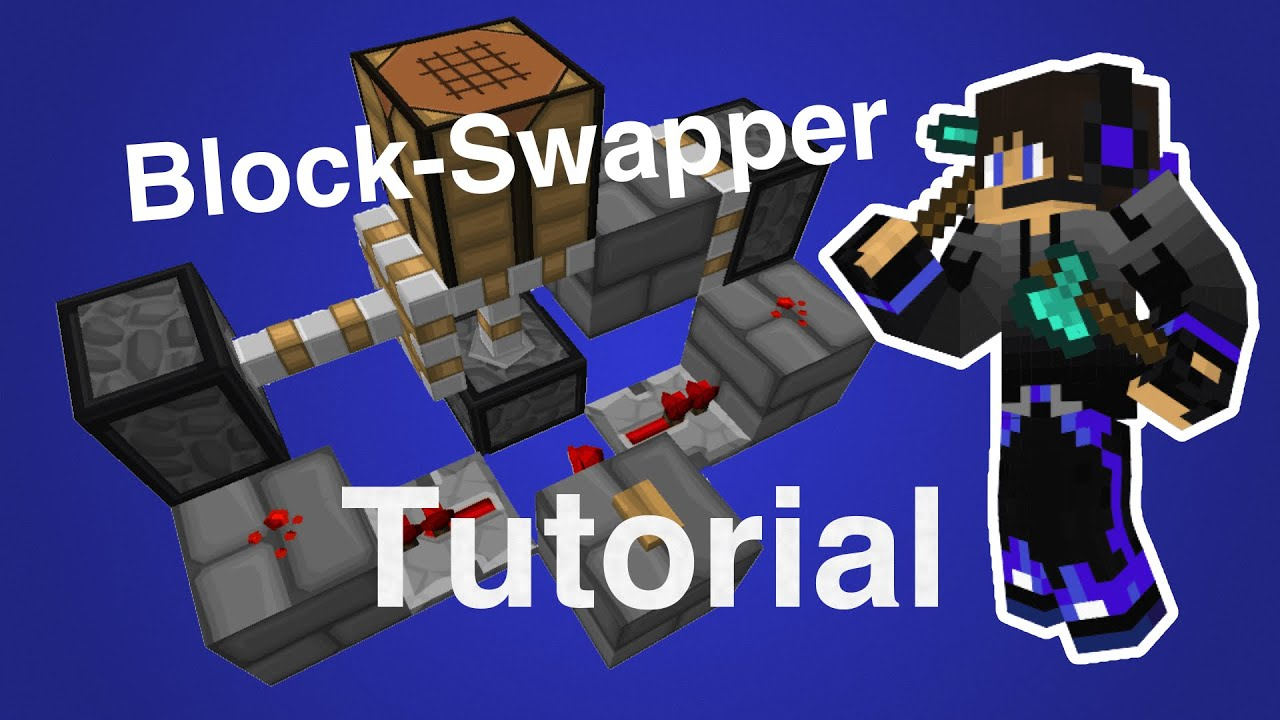 Redstone Pop Up Block Swapper Tutorial By Dodejoga