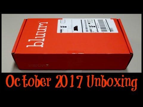 Bluum Unboxing - October 2017!