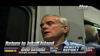 Return to Jekyll Island part 1 interviews for the Continental Congress 2009