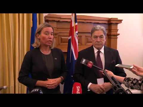 Federica MOGHERINI on official visit to Asia and Oceania - New Zealand