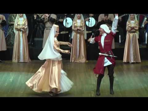 Государственный ансамбль народного танца Республики Абхазия «Кавказ» на Донбассе