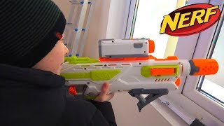 САШИН НЕРФ С ВИДЕОКАМЕРОЙ И ПАПИН СЕКРЕТИК. БРОС ШОУ. NERF WITH CAMERA AND BROS SHOW 8