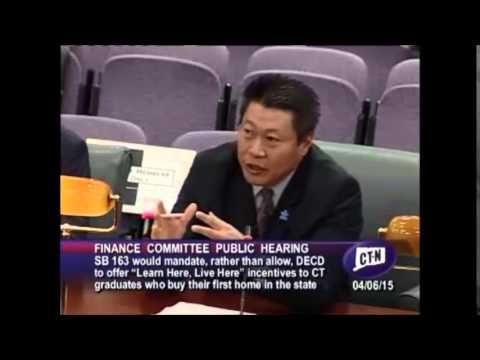 Senator Hwang Finance Committee Testimony 4 6 15