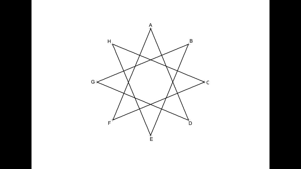 Estrella De 8 Puntas Octógono Estrellado De Orden 3 Youtube