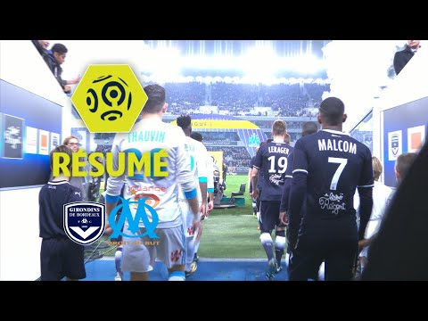Girondins de Bordeaux - Olympique de Marseille (1-1)  - Résumé - (GdB - OM) / 2017-18