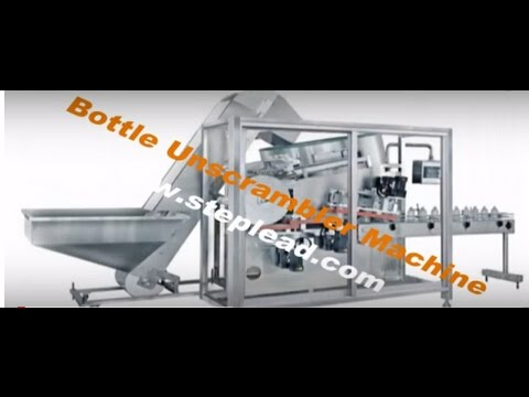 bottle unscrambler machine